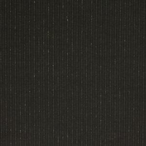 Nadelstreifen, Dunkelbraun, warmes Weiß