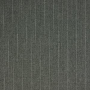 Kammgarn, Nadelstreifen, Steingrau, Weiß