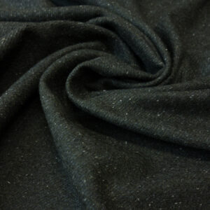 Tweed, meliert, Anthrazit, Oliv dunkel