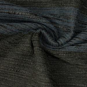 Webstreifen, Schwarz, Jeansblau