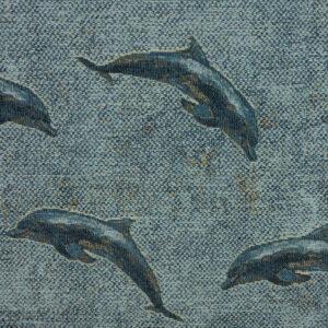 Gobelin, Fische, Blautöne