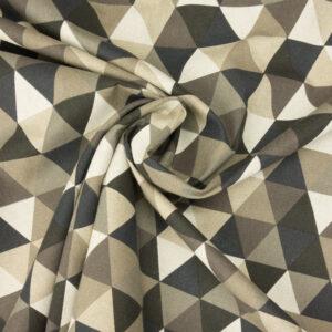 Panama, geometrisch gemustert, Grautöne, Schwarz, Weiß, Natur