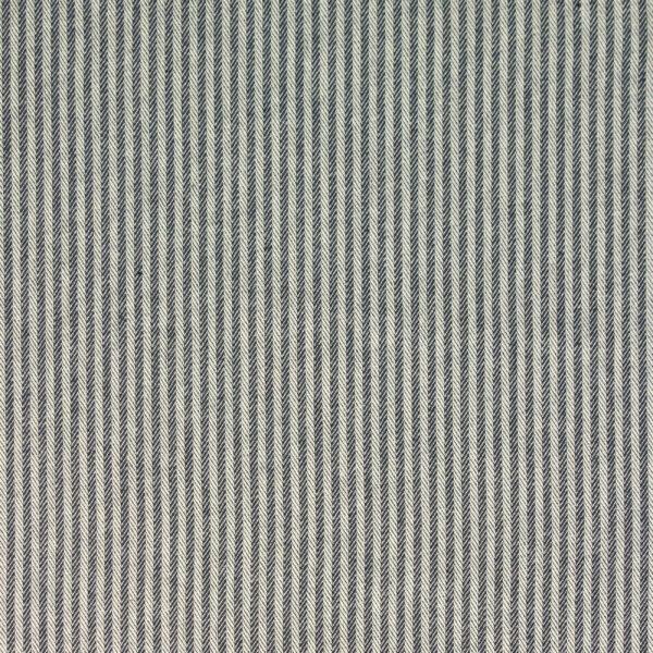 Jacquard, Webstreifen, Marine, Weiß