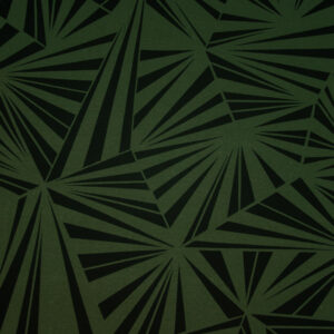 Sommersweat, grafisch gemustert, Grün, Dunkelgrün