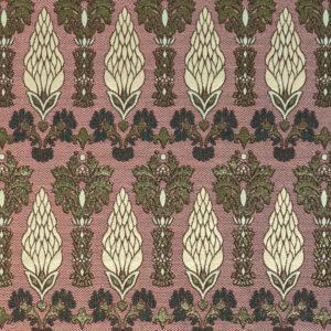 Brokat, floral gemustert, Rosenholz, antik Gold, Gold, Anthrazit, Rosé