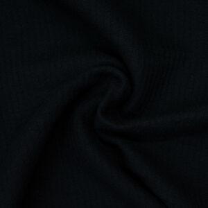 Manteltuch, uni, Webstreifen, Dunkelblau