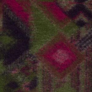 Walkstrick, Ethno-Muster, Pink, Lila, Grüntöne