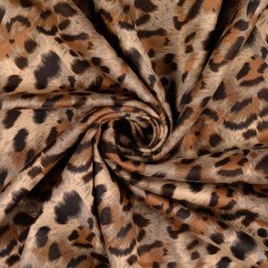 Velourscuba, Animalprint, Brauntöne, Beigetöne