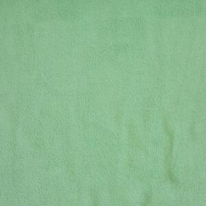 Plüsch, uni, Pastellgrün