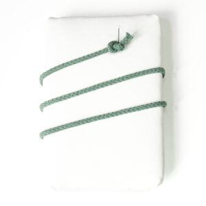 Kordel, rund, 100BW, Salbeigrün, 6 mm