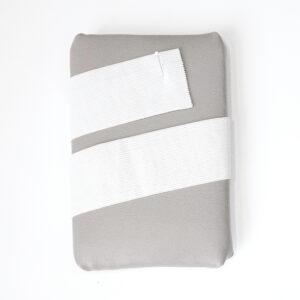 Elasticband, glatt, Weiß, 50 mm