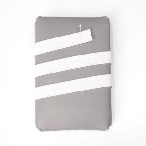 Elasticband, Nahtbahnenband, Weiß, 20 mm
