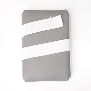 Elasticband, Nahtbahnenband, Weiß, 30 mm