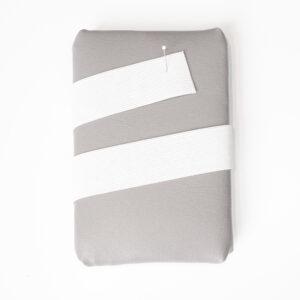 Elasticband, glatt, Weiß, 35 mm