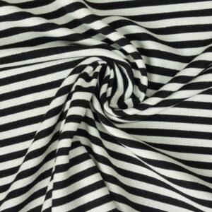 Querstreifen, warmes Weiß, Schwarz